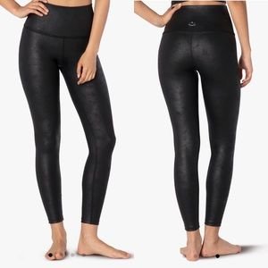Beyond Yoga Luxe Leatherette High Waisted Leggings